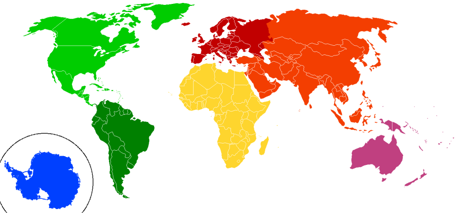 Continents_by_colour wikimedia commons