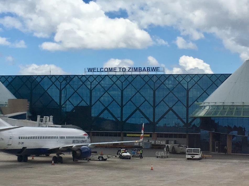 aeroporto do zimbabwe